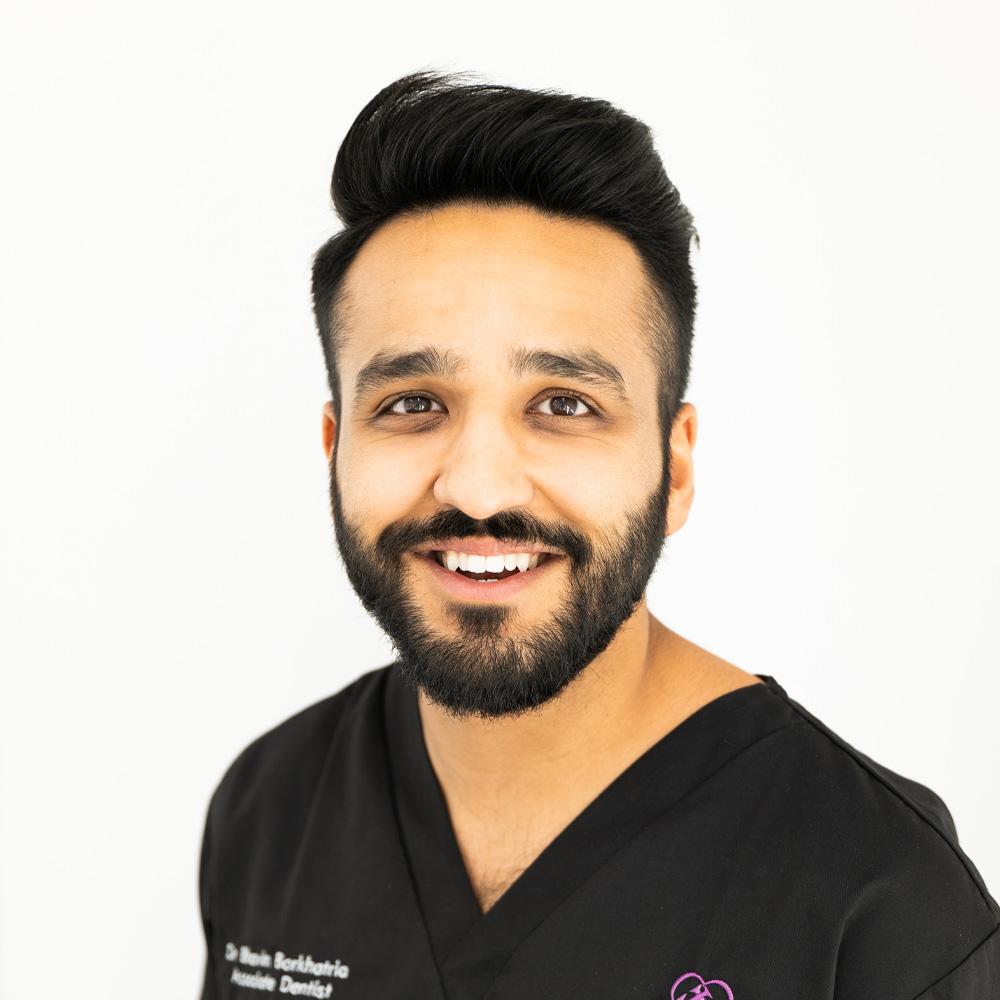 dr bhavin bonkhatria dentist